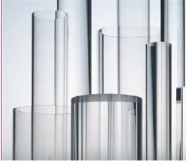 ACRYLATE TUBES AND BARS